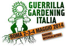 Roma ha ospitato il raduno nazionale (anzi, intergalattico!) di guerrilla gardening. Una fantastica tre giorni, da venerdì 2 a domenica 4 maggio 2014, durante la quale sono confluiti nella capitale i gruppi di #guerrillagardening provenienti da tutta Italia. Il raduno è stato organizzato dai Giardinierei Sovversivi Romani (@SubGiardinieri).  #GuerrillaGardening su @marraiafura