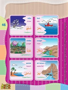 Baca Online Kamus Pintar Bergambar 3 Bahasa adalah buku kamus bergambar full warna dalam 3 bahasa: Indonesia, Inggris, dan Arab untuk anak. Write Arabic, Arabic Words, Indonesian Language, Arabic Sentences, Learn Arabic Online, Arabic Lessons, Arabic Language, English Language, Classroom Labels