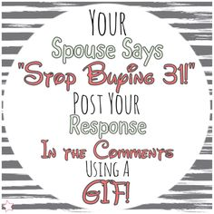 Interactive GIF post for Facebook VIP group or party.  Thirty-One spring/summer 2018 www.mythirtyone.ca/sabrinawhite Thirty One Games, Thirty One Fall, Thirty One Party, Facebook Group Games, Facebook Party, 31 Party, Host A Party, One Summer, Spring Summer 2018