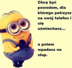 Komiksy nie są mojego autorstwa, ja je tylko tłumaczę. Będą tutaj rów… #losowo # Losowo # amreading # books # wattpad Funny Minion Memes, Weekend Humor, Funny Mems, Happy Photos, Cute Texts, Speak The Truth, Some Quotes, Sentences, Minions