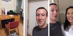 Mark Zuckerberg recorrió la habitación de Harvard donde empezó Facebook