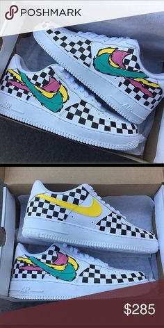 on sale be5ee 5b69b Custom Nike Air Force 1 I am a custom shoe designer with multiple designs  for various
