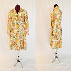 Vintage 1960's Jackie O Neiman Marcus Floral by InPursuitVintage