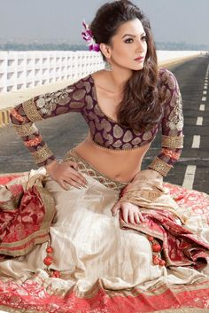 Gauhar Khan Photoshoot For Bridal Outfit