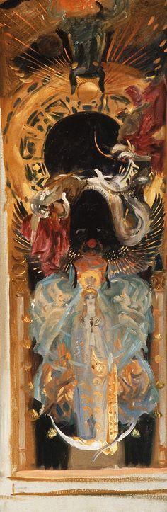 Astarte by John Singer Sargent  (American, Florence 1856–1925 London) At the Metropolitan Museum of Art