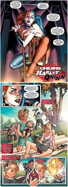 Harley Quinn's Origin Story - Album on Imgur... I remember reading this comic ❤