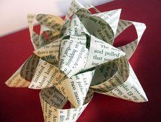 shealynn's faerie shoppe: DIY Book Page Bow { Tutorial }