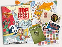 Top Secret Adventures™ | World Geography Book Club for Kids--- For BriarRose