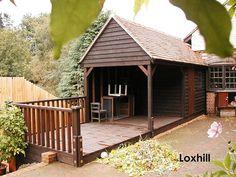A Phoenix Premium Workshop in Loxhill by Phoenix Timber Buildings, via Flickr