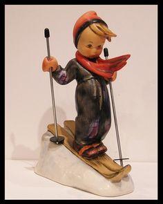 hummel figurines value list | Hummel Skier Figurine TMK6