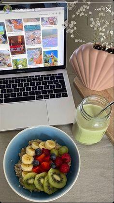 Healthy Snacks, Healthy Eating, Healthy Recipes, Kaya, Snacks Saludables, Good Food, Yummy Food, Healthy Lifestyle Motivation, Aesthetic Food