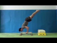 Some tips for training the Bent Arm Stand on the parallettes.