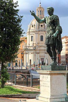 Marcus Ulpius Nerva Traianus Statue, Rome