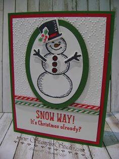 Stampin' Studio: Snow Way!