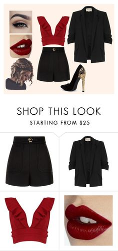 """""""Sans titre #153"""" by marion-lambert-perso on Polyvore featuring mode, RED Valentino, River Island, Boohoo et Charlotte Tilbury"""