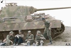 Panther- May 1944- Curious if anyone else finds the uniform color suspect.