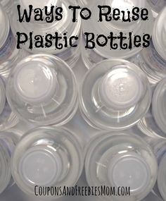 5 Easy Ways To Reuse Plastic Bottles [That You Probably Never Thought of]