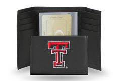 TEXAS TECH EMBROIDERED TRIFOLD