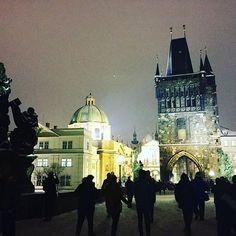 #anotherphotoofthecharlesbridge The view when you cross the Charles Bridge in Prague, Czech ✨#charlesbridgeprague #prague #czech #oldtown #traveleurope