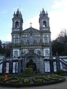 Igreja Bom Jesus do Monte em Braga- Portugal