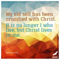 Galations 2:20 #AudaciousVerse #Bible #Verse