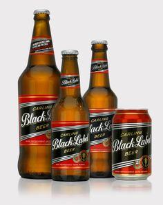 Black label beer, USA
