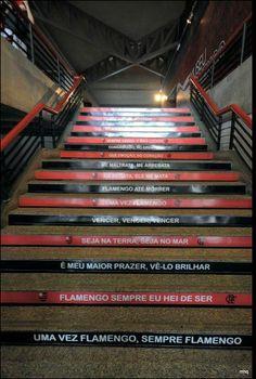 Uma vez Flamengo, sempre Flamengo.