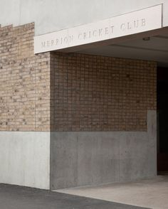 Merrion Cricket Pavilion by TAKA Architects Concrete and Brick