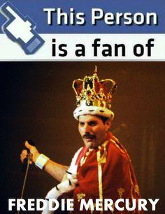 We are all, legend fans ! #FreddieForver #KingMercury