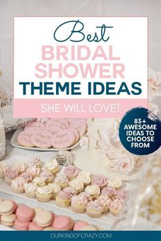 Looking for bridal shower decorations ideas? Check out this 15 classy and elegant bridal shower deco Disney Wedding Shower, Wedding Shower Cookies, Wedding Shower Cards, Wedding Shower Favors, Bridal Shower Gifts, Wedding Showers, Themed Bridal Showers, Bridal Shower Menu, Bridal Shower Cupcakes