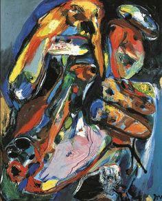 Asger Jorn (Danish: 1914 -1973)