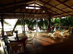 """House in Isla Bastimentos, Panama. """"It really is a piece of paradise, perfect house to make your own Bocas experience.""""  This sustainable house is located in the middle of the rain forest and right in front of the protected bay of Bastimentos. You will discover many coral reefs aro..."""
