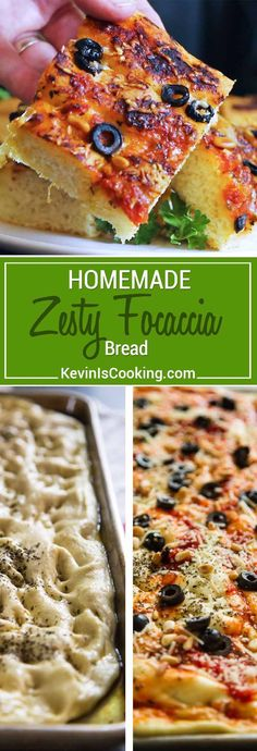 I show you step by step how easy it is to make my Zesty Homemade Focaccia Bread. Thick, airy, flat Italian bread that's your new garlic bread or roll substitute.