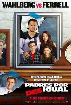 Póster de Padres por desigual (Daddy's Home)