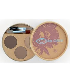 """Kit de maquillage bio """"Sourcils parfaits"""", de Couleur caramel"""