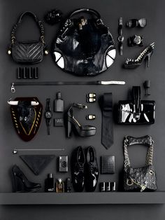 Product by colour - Black on Black | Luke Kirwan | Still Life