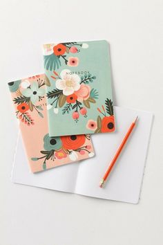 Rifle Paper Co. (Founded by American artist Anna Bond) - Super cute Journal. Spring. http://riflepaperco.com/