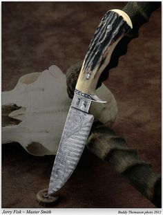 Jerry Fisk - Four Special Micro-Show Knives - The Knife Network Forums : Knife Making Discussions