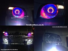 LED Tail Lights | Bixenon projector headlights | Projector Headlamps India | top car light in Delhi | Fabia Bmw Style LED Tail L