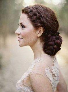 wedding hairstyle; photo: Jose Villa