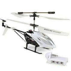 Mini Gyro Twin RC Helicopter (White) $9.99