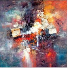 Trademark Fine Art Cube Abstract Iii Canvas Art by Rio, Size: 35 x 35, Multicolor