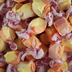 Soft and chewy salt water taffy with a lasting apricot flavor. Laffy Taffy, Salt Water Taffy, Snack Recipes, Snacks, Chips, Candy, Fresh, Vegetables, Food