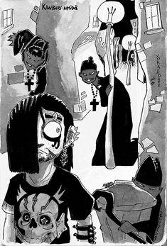 Comic stuff and nonsense from Chris Ryall Illustration Design Graphique, Art Et Illustration, Dark Fantasy Art, Art Inspo, Art Hippie, Pop Art, Art Du Croquis, Character Art, Character Design