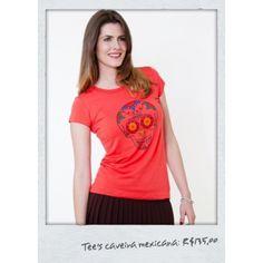 Venda: TEE'S CAVEIRA MEXICANA Lullye & Co. por R$135