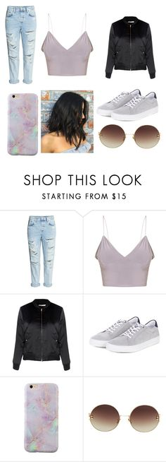 """""""Untitled #170"""" by onebriones on Polyvore featuring Glamorous, Barbour and Linda Farrow"""