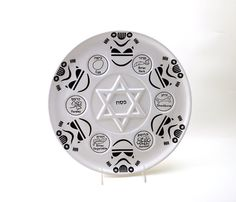 Hey, I found this really awesome Etsy listing at https://www.etsy.com/listing/275813662/star-wars-seder-platepassover-seder