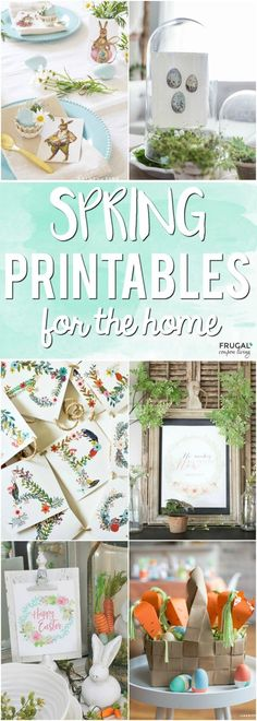 We found an adorable collection of Free Easter Printables for your home decor, crafts, table, gifts and more. You will love and reuse these spring printables. #easter #printables #easterdecor #homedecor #freeprintables #easterprintables #spring #springprintables #springdecor