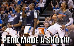 Perk needs to step it up!