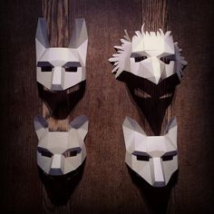 DIY Masks From Recycled Cardboard | SWAGGEST